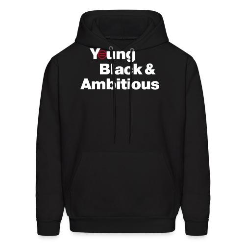 YBA Black Shirt2 - Men's Hoodie