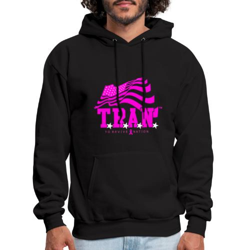 TRAN Ribbon Logo 4 - Men's Hoodie