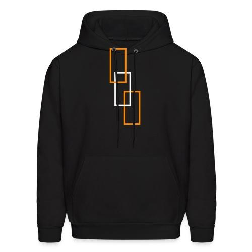 Logo Shapes - Men's Hoodie