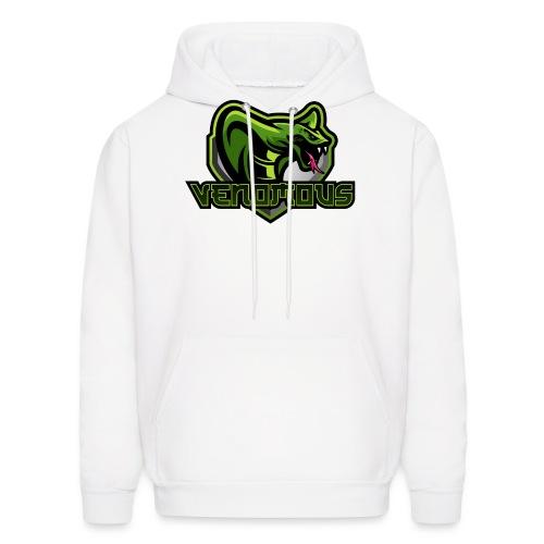 Venomous Text Logo - Men's Hoodie