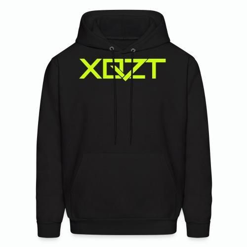 #XQZT Logo Lime Light - Men's Hoodie