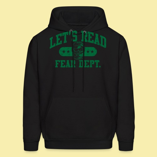 Athletic Green - Inverted for Dark Shirts - Men's Hoodie