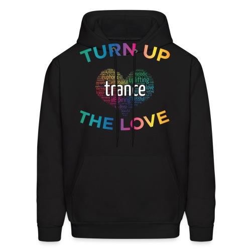 Turn Up The Love! - Men's Hoodie