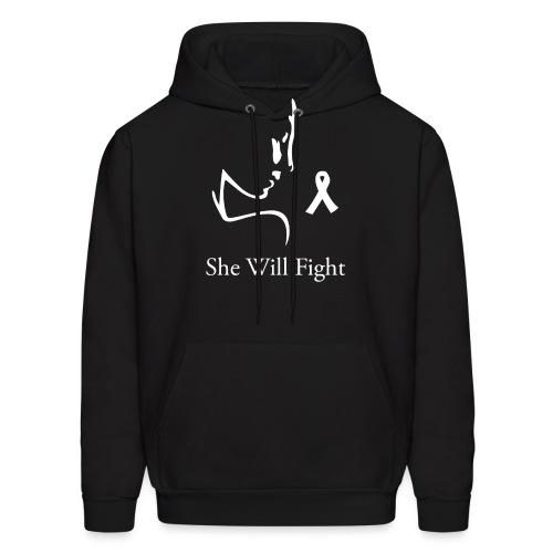 Women's wide neck slouchy sweatshirt - Men's Hoodie