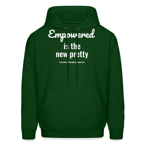 Empowered is the new pretty - Men's Hoodie