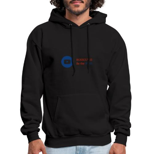 boss logo with red text - Men's Hoodie