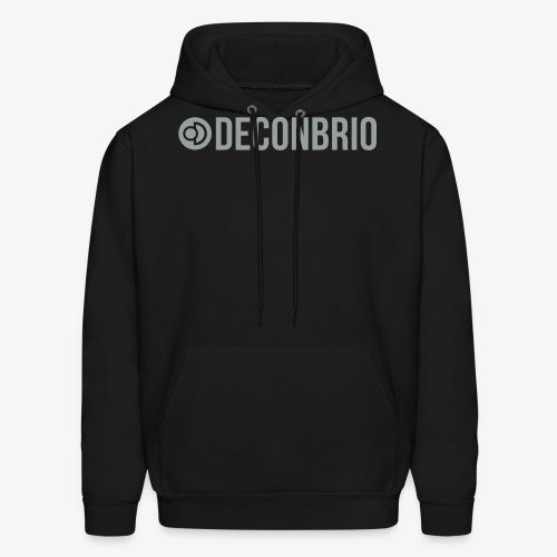 Deconbrio logo 1 color - Men's Hoodie