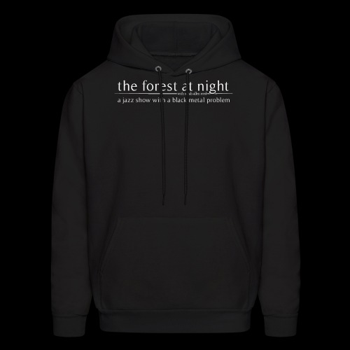 The Forest At Night -- Bee-Level Comedy - Men's Hoodie