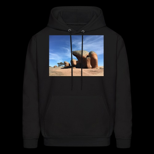 Rock and Roll - Men's Hoodie