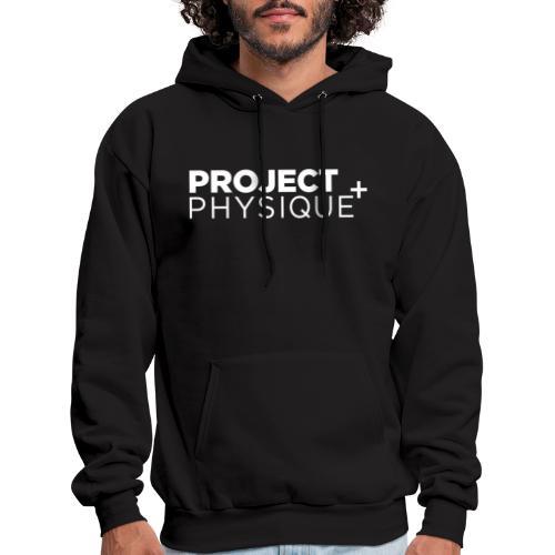 Projet Physique Logo Blanc - Molleton à capuche pour hommes