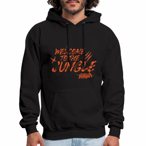Welcome to the Member Jungle Orange - Men's Hoodie