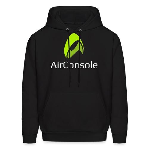 New Logo AirConsole White - Men's Hoodie