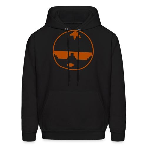 DaSourOrange Minimalist Logo Design - Men's Hoodie