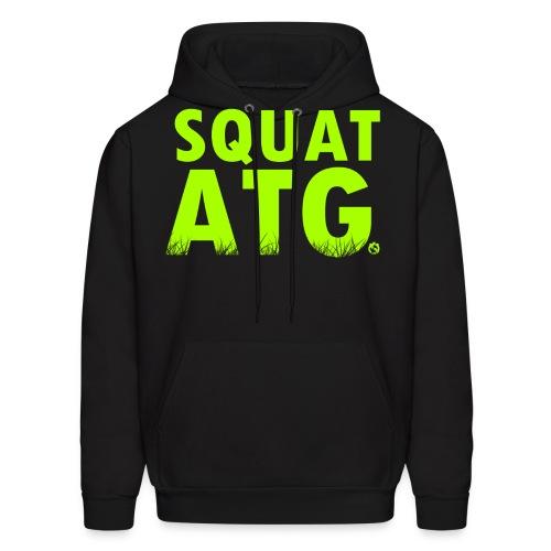 squat atg - Men's Hoodie