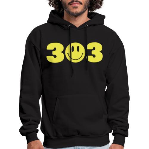 3 Smiley 3 - Men's Hoodie