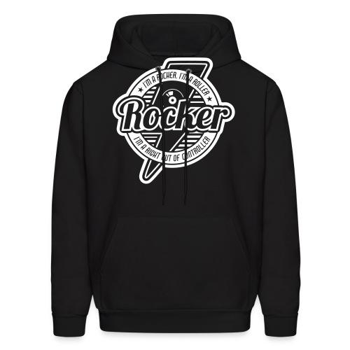 Rocker-1c - Men's Hoodie