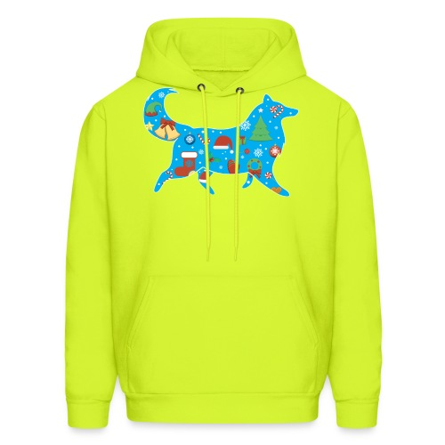 Collie Christmas - Men's Hoodie