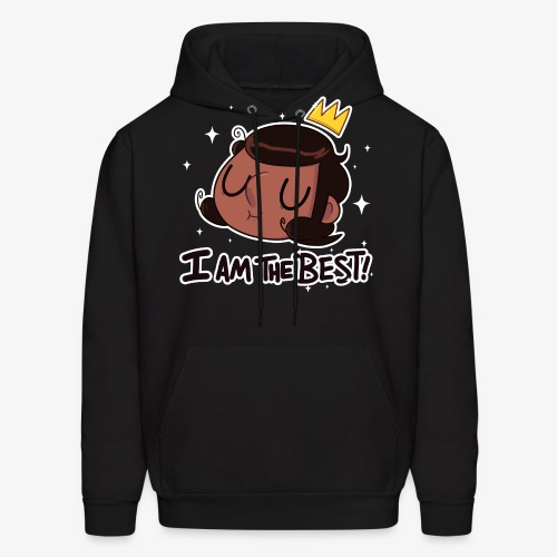 the best - Men's Hoodie