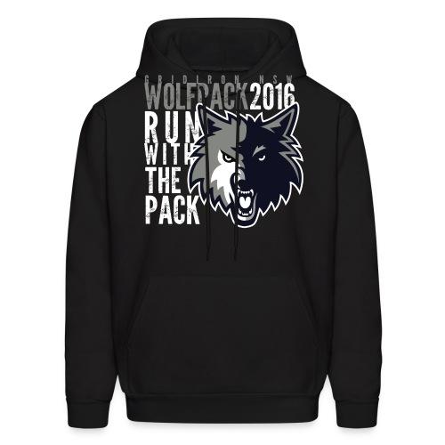 runblack - Men's Hoodie