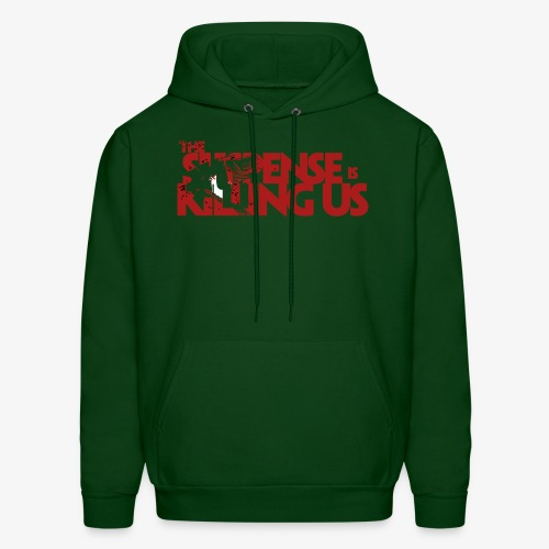 Suspsense Is Killing Us Blood Red Logo - Men's Hoodie