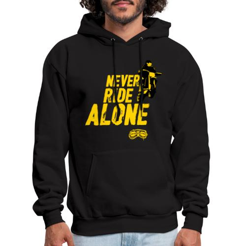 Never Ride Alone Black - Men's Hoodie