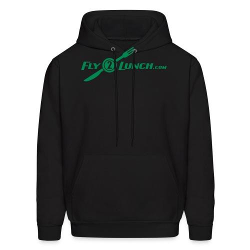 fly2lunch - Men's Hoodie