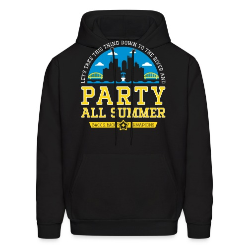 party all summer - Men's Hoodie
