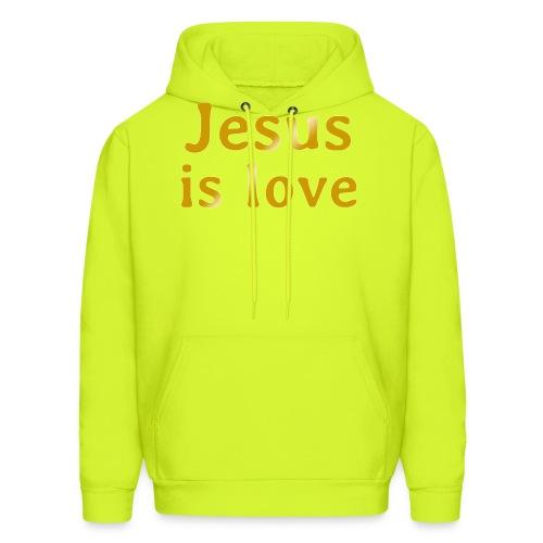 Jesus is love - Men's Hoodie