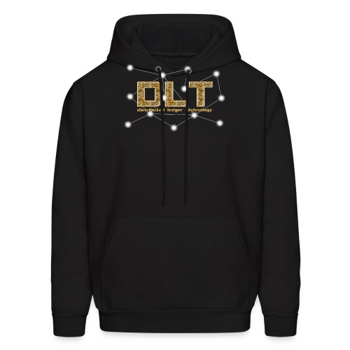 DLT - distributed ledger technology - Men's Hoodie