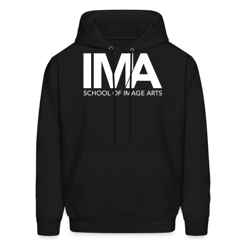 Copy of School of Image Arts Logos White png - Men's Hoodie