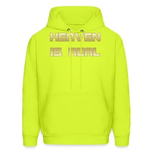 Heaven is real - Men's Hoodie