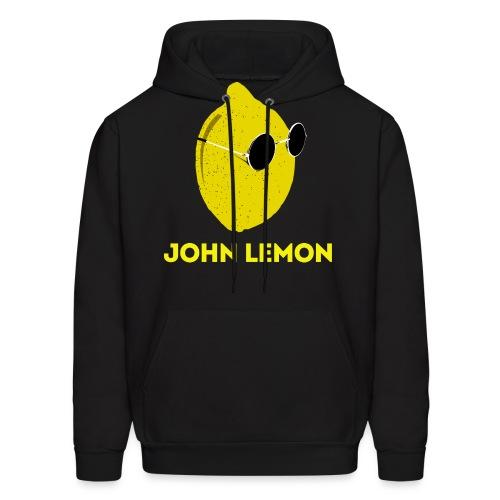 JohnLemon Print2 png - Men's Hoodie