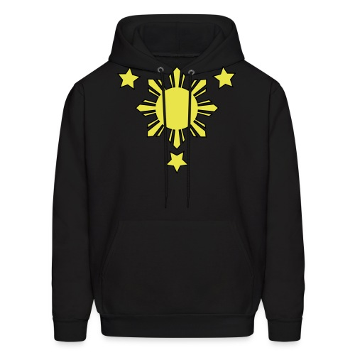3stars and sun Vector - Men's Hoodie