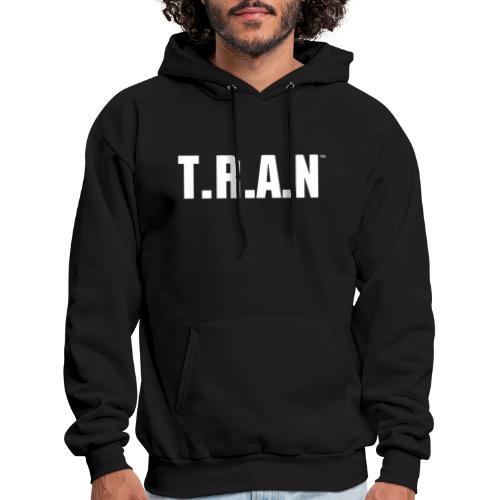 TRAN white png - Men's Hoodie