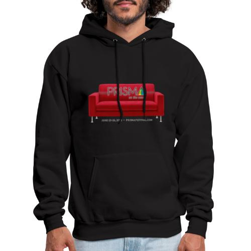 PRISMA on the Couch: Red - Men's Hoodie