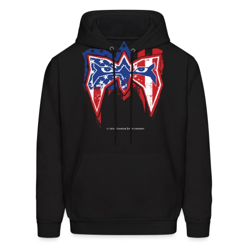 Warrior USA - Men's Hoodie