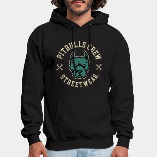 pitbull street - Men's Hoodie