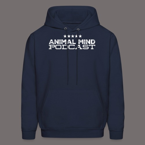 Animal Mind Patriotic Logo - Men's Hoodie