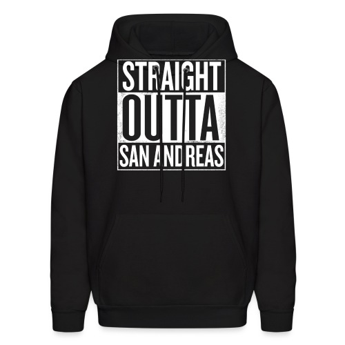 Straight Outta San Andreas GTA - Men's Hoodie