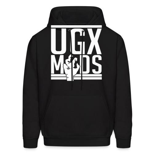 UGX Mods YouTube Logo NO BG png - Men's Hoodie