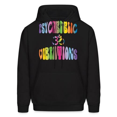 Psychedelic Vibrations - Men's Hoodie