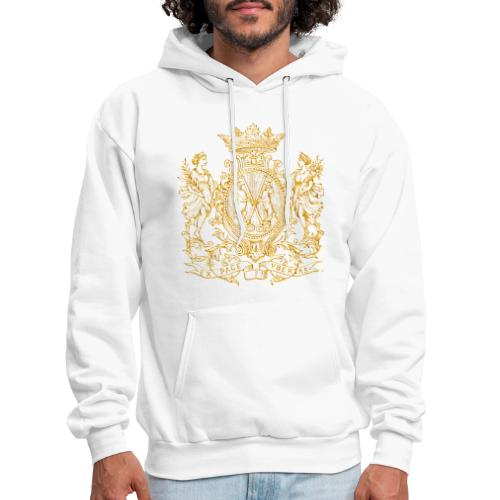 peace and prosperity coat of arms - Men's Hoodie