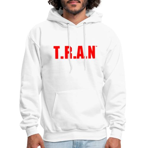 TRAN red png - Men's Hoodie