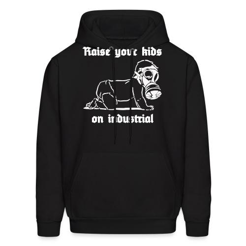Industrial Baby (white) - Men's Hoodie