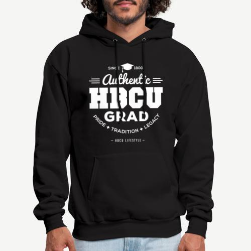 Authentic HBCU Grad - Men's Hoodie