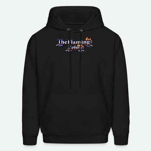 BIG TheFlamingZebra Logo - Men's Hoodie