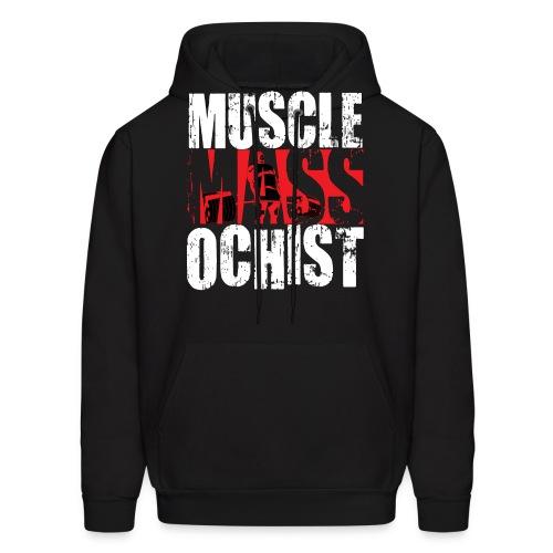 MuscleMassochistShirtRed1 png - Men's Hoodie