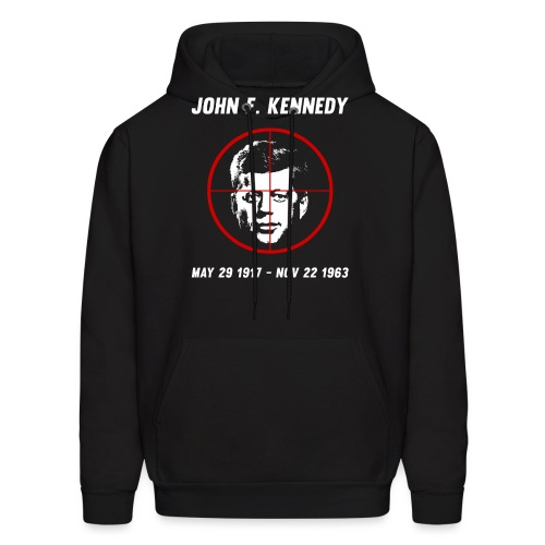 John F. Kennedy Assassination - Men's Hoodie