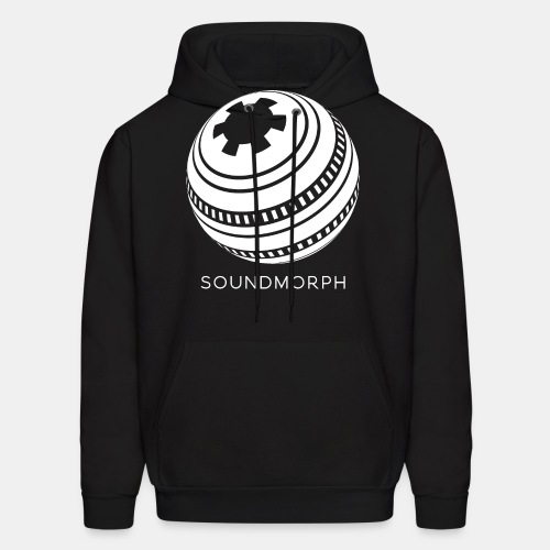 Main Logo White Sphere - Men's Hoodie