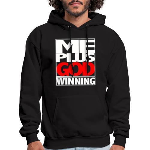 ME GOD WIN WHT - Men's Hoodie